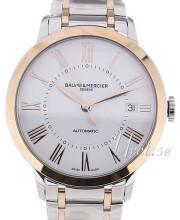 Baume & Mercier Classima Hvid/Rosaguldtonet stål Ø36.5 mm