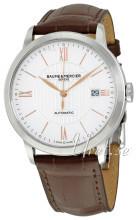 Baume & Mercier Classima Sølvfarvet/Læder