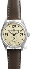 Bell & Ross BR 123 Brun/Læder