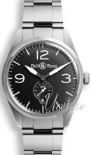 Bell & Ross BR 123 Sort/Stål
