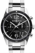 Bell & Ross BR 126 Sort/Stål