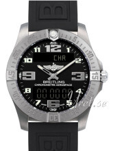 Breitling Aerospace Evo Sort/Gummi Ø43 mm