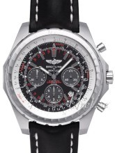 Breitling for Bentley Motors T Sort/Læder Ø49 mm