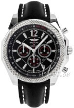 Breitling for Bentley Barnato 42 Sort/Læder