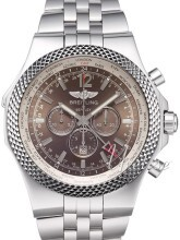 Breitling for Bentley GMT Brun/Stål