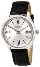 Bulova Caravelle Sølvfarvet/Læder
