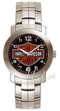 Bulova Harley-Davidson Sort/Stål Ø30 mm