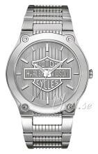 Bulova Harley-Davidson Sølvfarvet/Stål