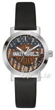 Bulova Harley-Davidson Blå/Læder