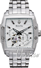 Bulova Mechanical Sølvfarvet/Stål