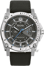 Bulova Precisionist Sort/Tekstil Ø46 mm