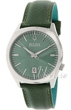 Bulova Accutron Grøn/Læder