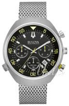 Bulova Accutron Sort/Stål