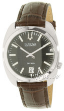 Bulova Accutron Sort/Læder