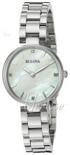 Bulova Bracelet Sølvfarvet/Stål Ø27 mm