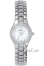 Bulova Crystals Ladies MOP Dial