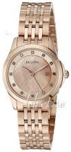 Bulova Bracelet Rosa guldfarvet/Rosaguldtonet stål Ø27 mm