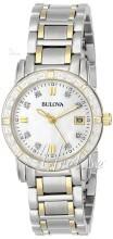 Bulova Marine Star Ladies Diamond Two Tone MOP Dial