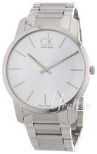Calvin Klein City Sølvfarvet/Stål Ø43 mm