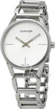 Calvin Klein Stately Sølvfarvet/Stål Ø34 mm