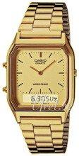 Casio Guldfarvet/Gul guldtonet stål 38.8x27.8 mm