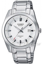 Casio Hvid/Stål Ø37.3 mm