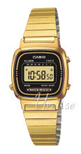 Casio Gul guldtonet stål 30.3x24.6 mm