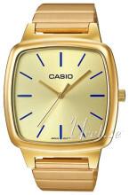 Casio Casio Collection Guldfarvet/Gul guldtonet stål