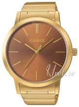 Casio Casio Collection Brun/Gul guldtonet stål