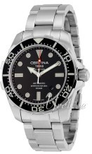 Certina DS Action Gent Diver Sort/Stål Ø43.2 mm