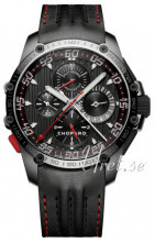 Chopard Superfast Chrono Split Second Sort/Læder