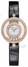 Chopard Happy Diamonds Icons Hvid/Læder