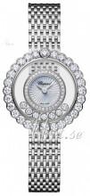 Chopard Happy Diamonds Icons Hvid/18 karat hvidguld Ø30.3 mm