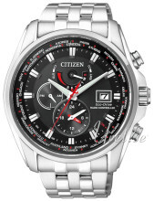 Citizen Radio Controlled Sort/Stål Ø44 mm
