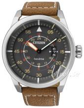 Citizen Leather Grå/Læder