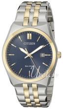 Citizen Dress Blå/Gul guldtonet stål