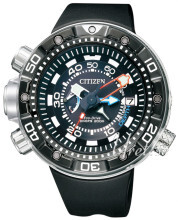 Citizen Promaster Sort/Gummi Ø50 mm