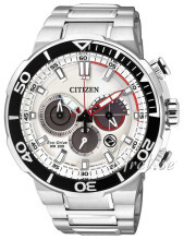 Citizen Sport Sølvfarvet/Stål Ø46 mm