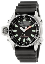 Citizen Aquatimer Sort/Gummi
