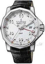 Corum Admirals Cup Challaenger 44 Hvid/Læder