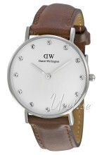Daniel Wellington Classy St Mawes Hvid/Læder