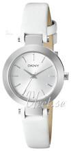 DKNY Dress Sølvfarvet/Læder