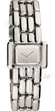 Dolce & Gabbana D&G Sølvfarvet/Stål 28x20 mm
