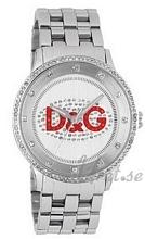 Dolce & Gabbana D&G Prime Time Sølvfarvet/Stål Ø43 mm