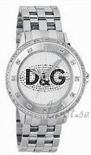 Dolce & Gabbana D&G Prime Time Sølvfarvet/Stål Ø46 mm
