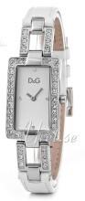 Dolce & Gabbana D&G Sølvfarvet/Læder 31x20 mm