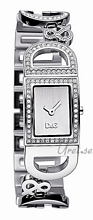 Dolce & Gabbana D&G Ireland Sølvfarvet/Stål 25x20 mm