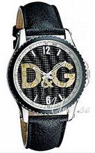 Dolce & Gabbana D&G Sestriere Sort/Læder Ø44 mm