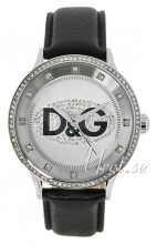 Dolce & Gabbana D&G Prime Time Sølvfarvet/Læder