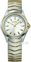 Ebel Wave Sølvfarvet/Gul guldtonet stål